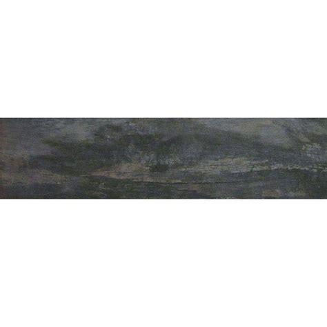floor and decor hardwood reviews marazzi montagna smoky black 6 in x 24 in glazed