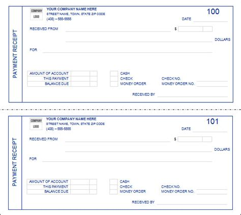 fee receipt format payment receipt 31 download free documents in pdf word