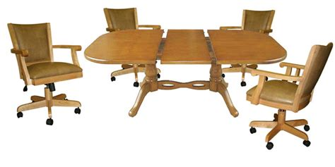 Chromcraft Furniture Kitchen Set With Wheels by Chromcraft Dinettes Kitchen Chairs On Wheels