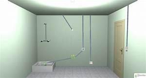 Prise Electrique Salle De Bain : circuit electrique d 39 une salle de bain sch ma de l ~ Dailycaller-alerts.com Idées de Décoration