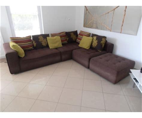 ou vendre canapé canapé d 39 angle tissu brun seraing à vendre