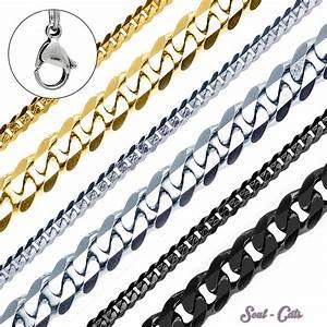 Edelstahl Ketten Meterware : halskette herren edelstahlkette panzerkette k nigskette armband silber schwarz edelstahl ketten ~ Eleganceandgraceweddings.com Haus und Dekorationen