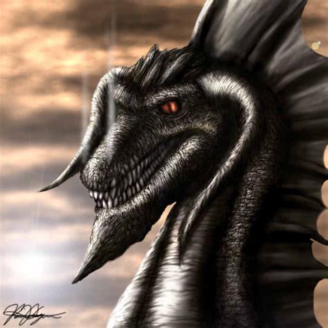Awesome Black Dragon
