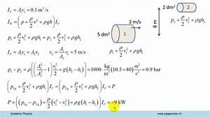 Querschnitt Berechnen Formel : bernoulli wasserleitung youtube ~ Themetempest.com Abrechnung