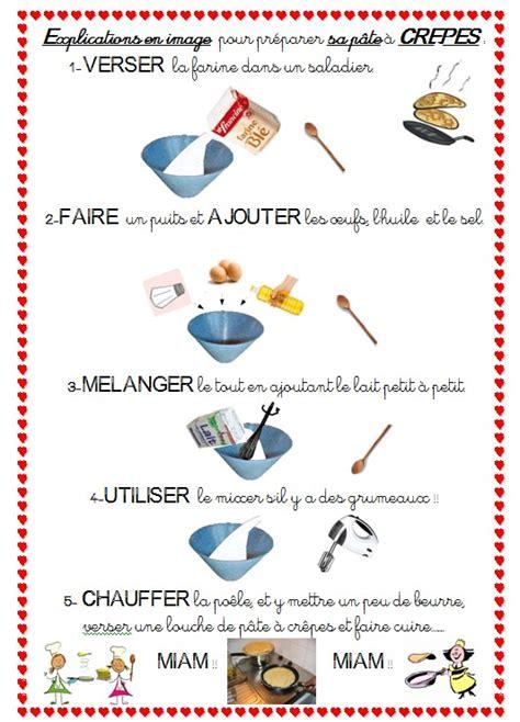 vocabulaire recette de cuisine γαλλικα στο σχολειο μασ février atelier crêpes chouette des crêpes à l école τέλεια