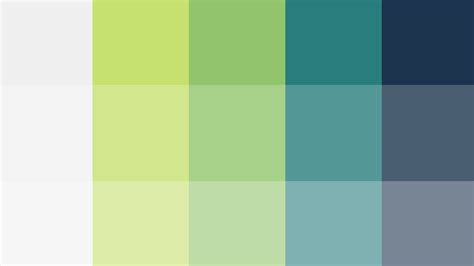 color palettes using color theory to create a better color palette