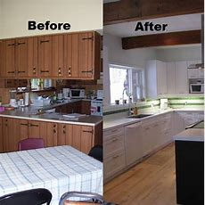 Beforeafter Affordable Reno With Counter Top And Cabinet