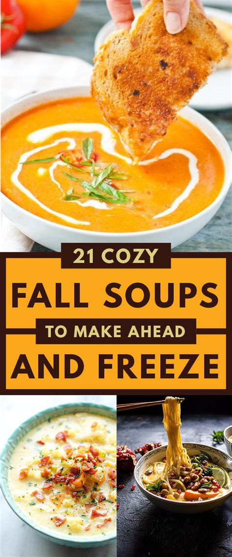 fall soups 21 healthy fall soups to make ahead and freeze