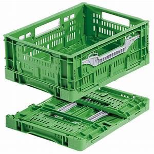 Bac Plastique Ajouré : bac plastique pliable ajour vert 400x300x160 ~ Edinachiropracticcenter.com Idées de Décoration