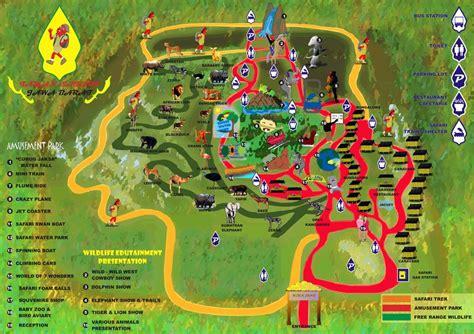 indonesian safari park indonesia tourism