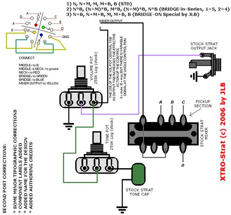 2 Position Switch Wiring Diagram by 3 Position 4 Pole Rotary Switch Strat Selector