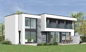 maison cubique a lesquin pouwels ab With entree de jardin moderne 5 maison semi cubique en briques