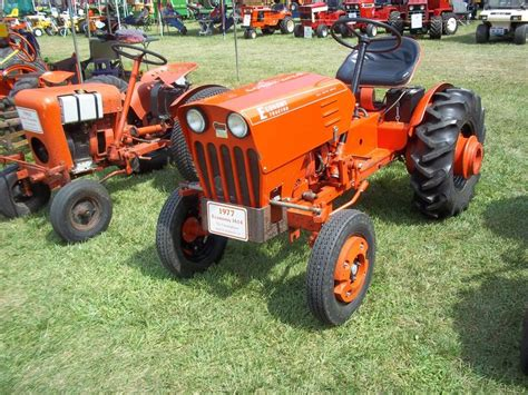 Vintage Garden Tractors by 1977 Economy 1614 Garden Tractor My Tractor Pictures
