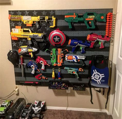 nerf gun rack american flag nerf gun rack wood work guns