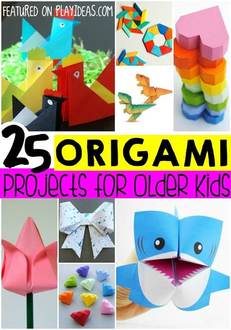 easy origami ideas  bigger kids give  big kids