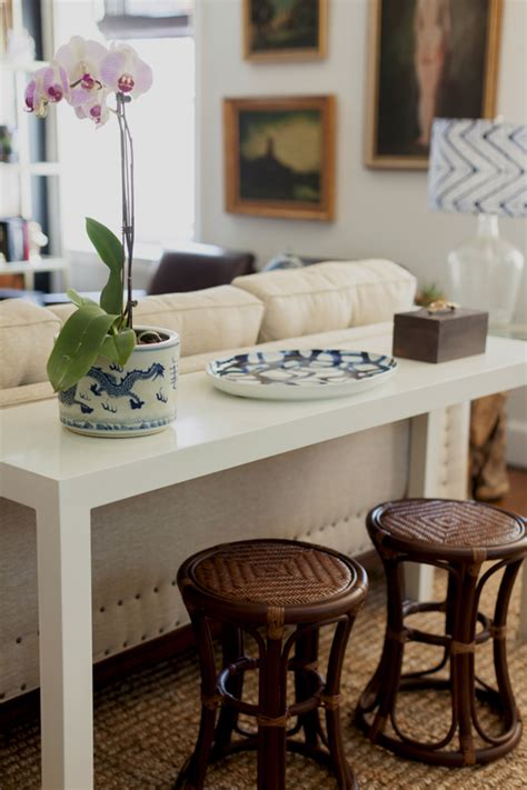 sofa table and stools cottage and vine a few favorites from the orc