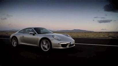 Porsche Driving Animated Cars Vehicles