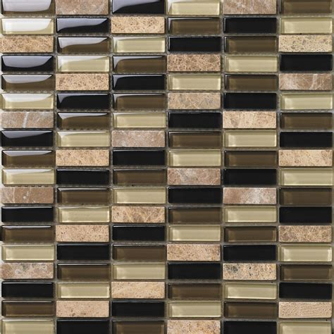 rock tile sheets with mosaic tile