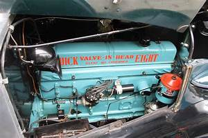 1937 Buick Roadmaster Engine