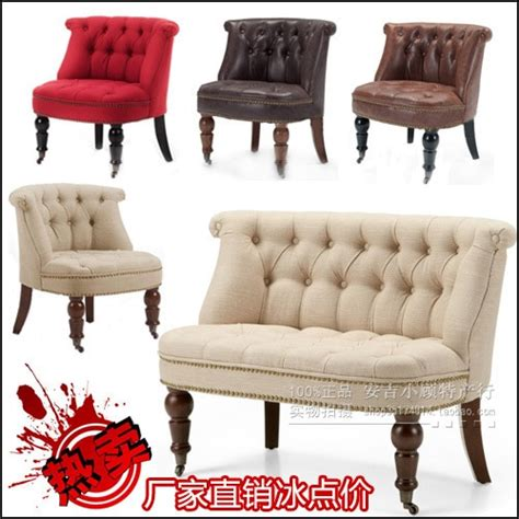 ikea small bedroom chairs nordic american law retro fabric small sofa chair ikea 15618   Nordic American Law retro fabric small sofa chair IKEA creative study single or double bedroom small