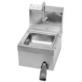 advance tabco 7 ps 63 hand sink hands free knee