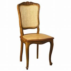 Un Dossier De Chaise : chaise r gence n 3 en merisier cann e meubles de normandie ~ Premium-room.com Idées de Décoration