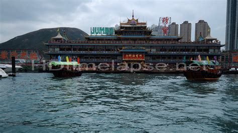 Jumbo Floating Boat Hong Kong by Ultra Hd 4k Time Lapse Stock Footage Boat Trip