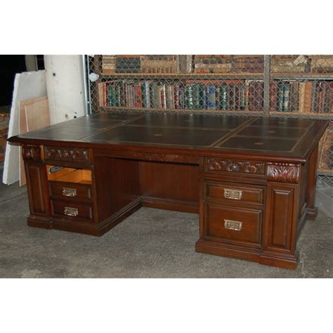 executive desk for sale beautiful 19th c carved mahogany executive desk for sale