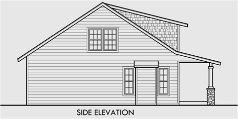 house porch side view bungalow house plans 1 5 story house plans 10128