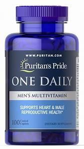 One Daily Men U0026 39 S Multivitamin 100 Caplets