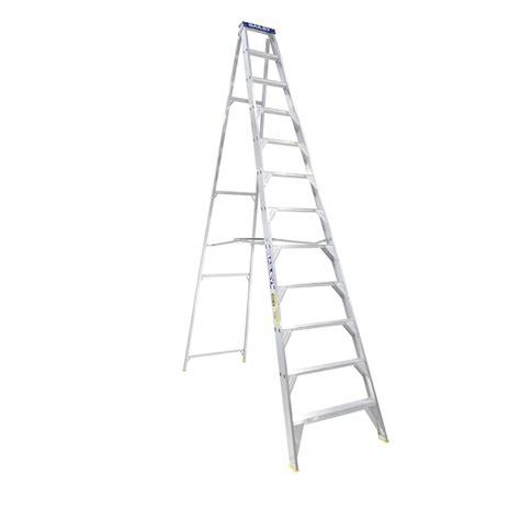 aluminium ladder bunnings bailey 3 6m 150kg pro single sided aluminium ladder