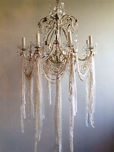 Best shabby chic chandelier ideas on