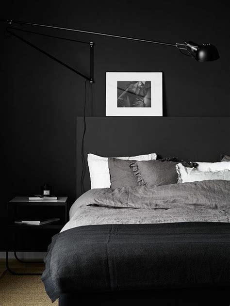 Schlafzimmer Schwarze Wände by Die Besten 25 Schwarze Schlafzimmer Ideen Auf