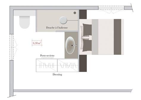 chambre parentale avec dressing et salle de bain j 39 aime cette photo sur deco fr et vous salle de