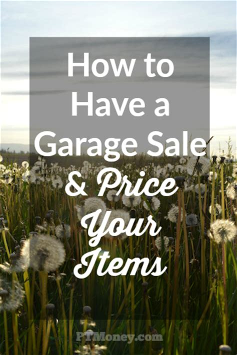 how to price garage items how to a garage and price your items pt money