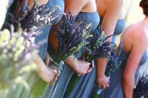 Bridesmaid Lavender Wedding Bouquet