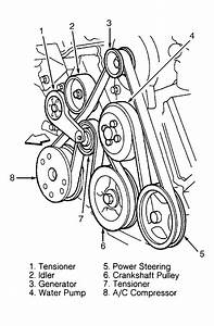Need Serpentine Belt Routing Diagram For Ford V10 Motor