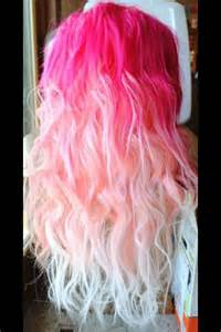 temporary hair extensions for wedding pink ombre hair hair styles ombre hair