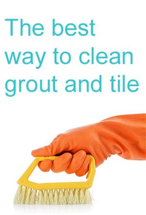 clean grout with hydrogen peroxide and baking soda or