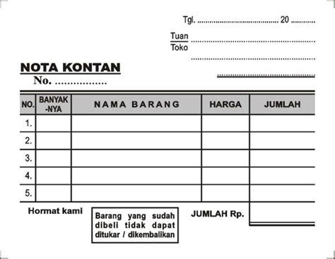 Apotek Surabaya Jual Nota Mini Rangkap 2 Nota Kosong Di Lapak Karya