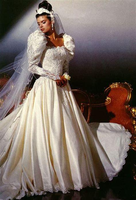 389 Best 1980's Wedding Dress Images On Pinterest