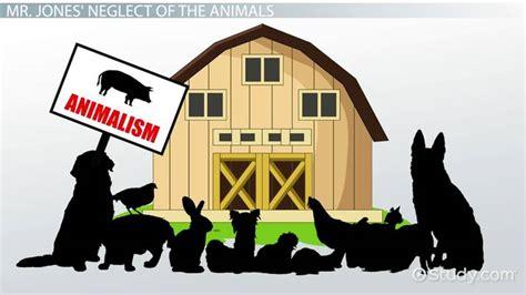 jones  animal farm character allegory analysis