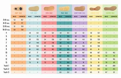 Chart Shoe Conversion Youth Sizing Luca Livie