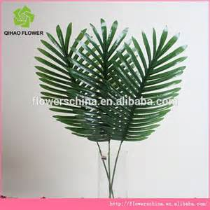 factory wholesale cheap artificial plastic green palm trees leaves and branches names of