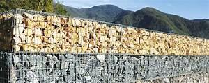 Mur En Gabion : tout savoir sur le mur en gabion guide artisan ~ Premium-room.com Idées de Décoration