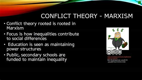 Video comparing functionalism and conflict theory on