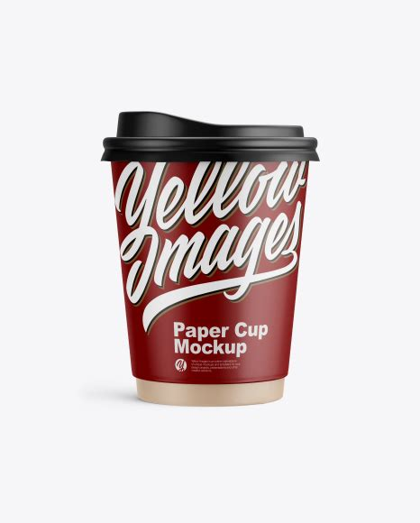 Therefore, take the opportunity to quickly and efficiently demonstrate your design. Matte Paper Coffee Cup Mockup - Front View PSD Template ...