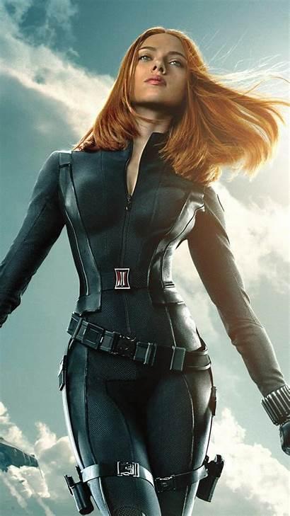 Widow Scarlett Johansson Natasha Marvel Avengers Soldier