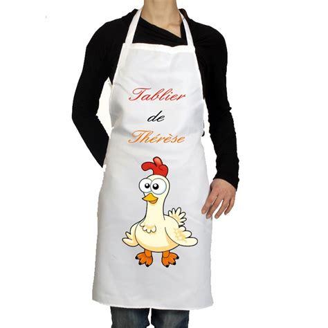 tablier de cuisine pas cher tablier de cuisine personnalisé pas cher cadeau pour