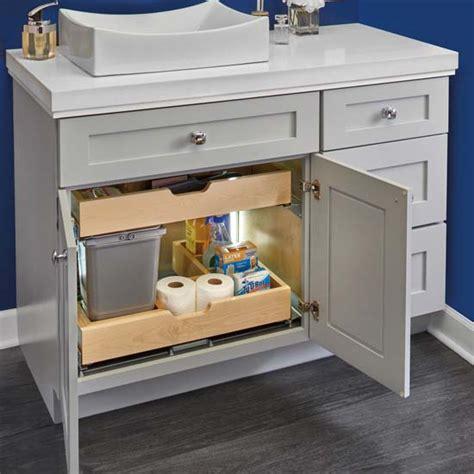 Rv Bathroom Vanity by For Bathroom Vanity U Shape Sink Pullout Organizer